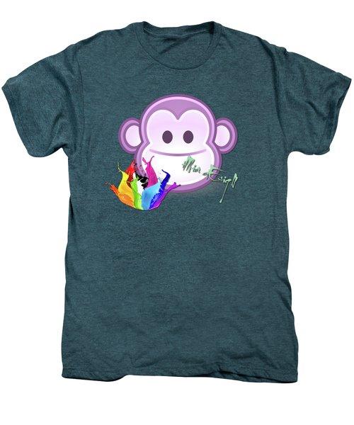 Cute Gorilla Baby Men's Premium T-Shirt