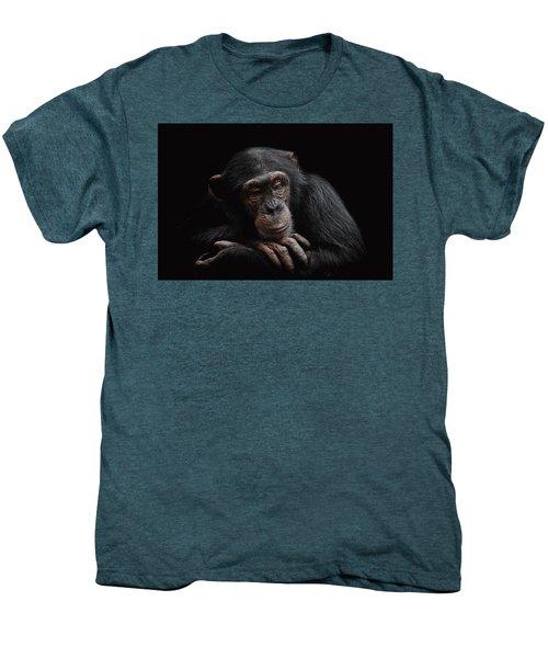 Depression  Men's Premium T-Shirt by Paul Neville