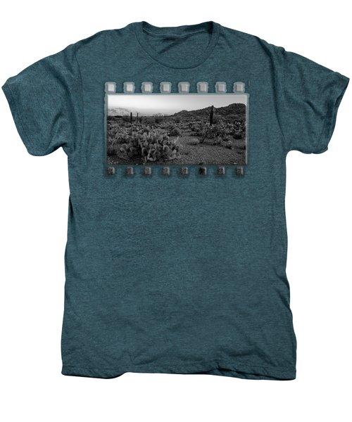 Desert Foothills H30 Men's Premium T-Shirt by Mark Myhaver
