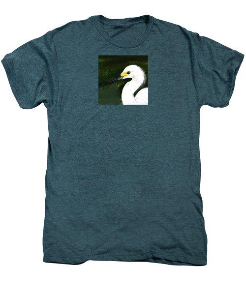 Egret Men's Premium T-Shirt