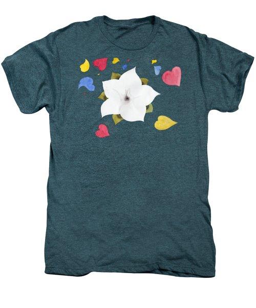 Fleur Et Coeurs Men's Premium T-Shirt