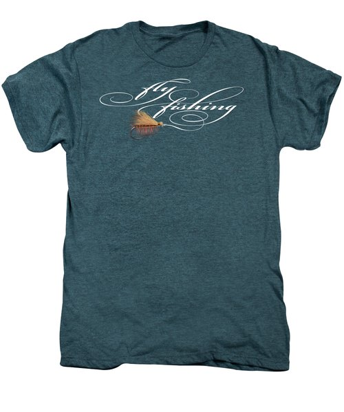 Fly Fishing Elk Hair Caddis Men's Premium T-Shirt