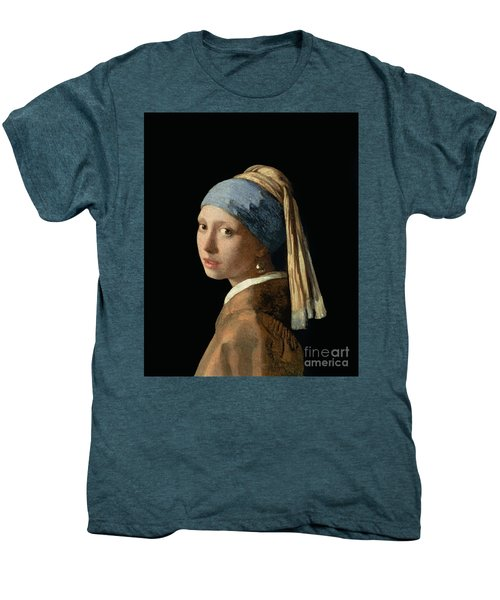 Girl With A Pearl Earring Men's Premium T-Shirt