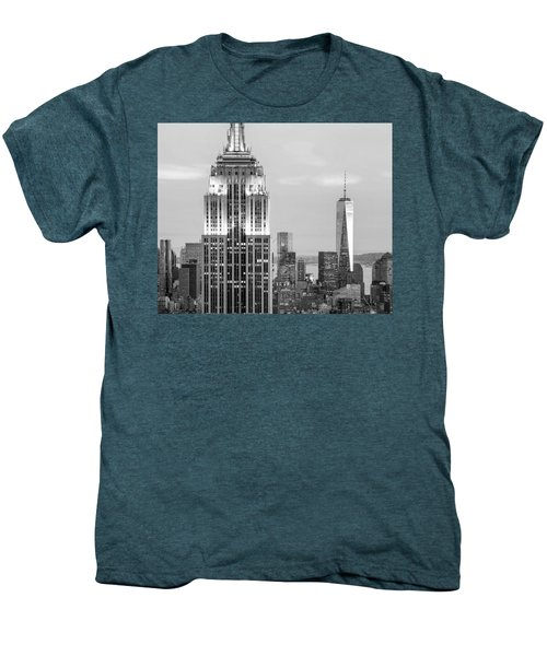 Iconic Skyscrapers Men's Premium T-Shirt by Az Jackson