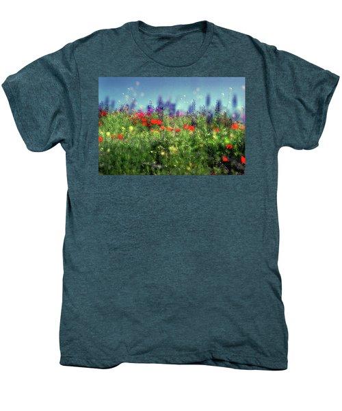 Impressionistic Springtime Men's Premium T-Shirt