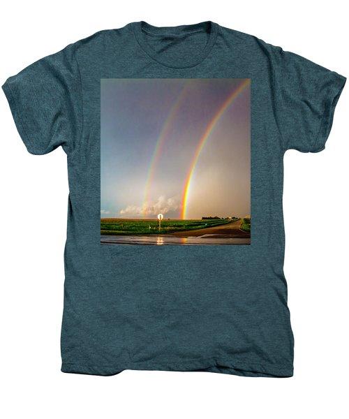 Kansas Storm Chase Bust Day 007 Men's Premium T-Shirt