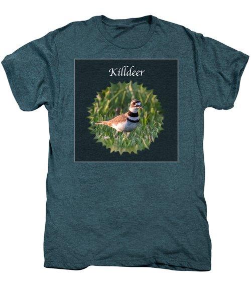 Killdeer Men's Premium T-Shirt by Jan M Holden