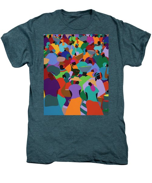 Les Palmes Market Haiti Men's Premium T-Shirt