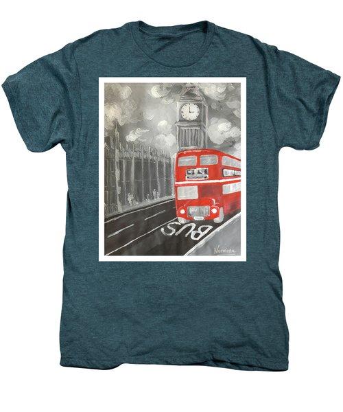 London City Abstract Men's Premium T-Shirt