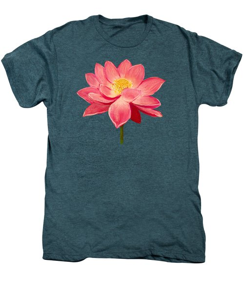 Lotus Flower Men's Premium T-Shirt by Anastasiya Malakhova