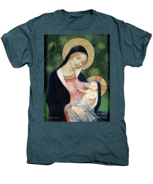 Madonna Of The Fir Tree Men's Premium T-Shirt