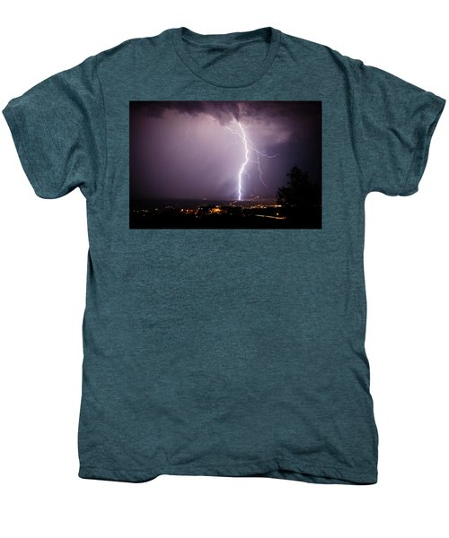 Massive Lightning Storm Men's Premium T-Shirt