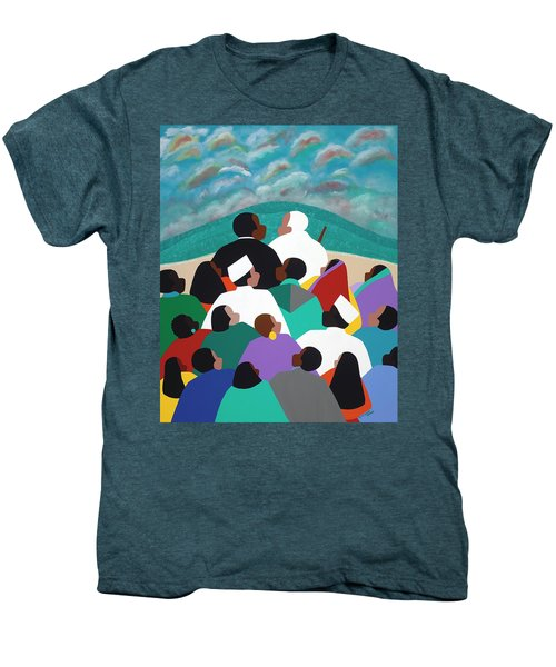 Mlk Called To Serve Men's Premium T-Shirt