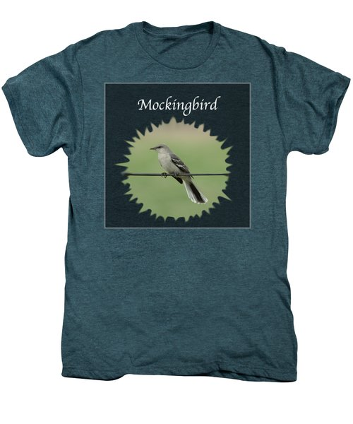 Mockingbird      Men's Premium T-Shirt by Jan M Holden
