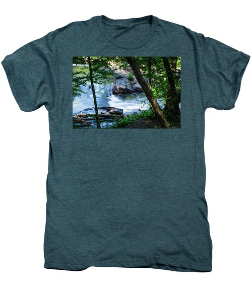 Mountain Stream Men's Premium T-Shirt