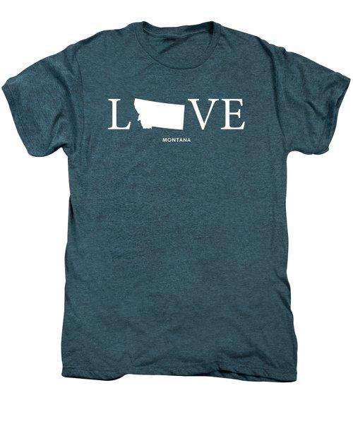 Mt Love Men's Premium T-Shirt by Nancy Ingersoll