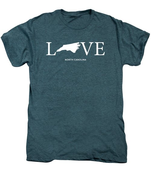 Nc Love Men's Premium T-Shirt by Nancy Ingersoll