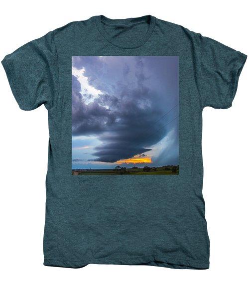 Nebraska Supercell 025 Men's Premium T-Shirt