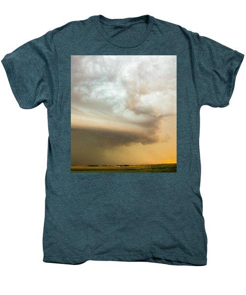 Nebraska Thunderstorm Eye Candy 005 Men's Premium T-Shirt
