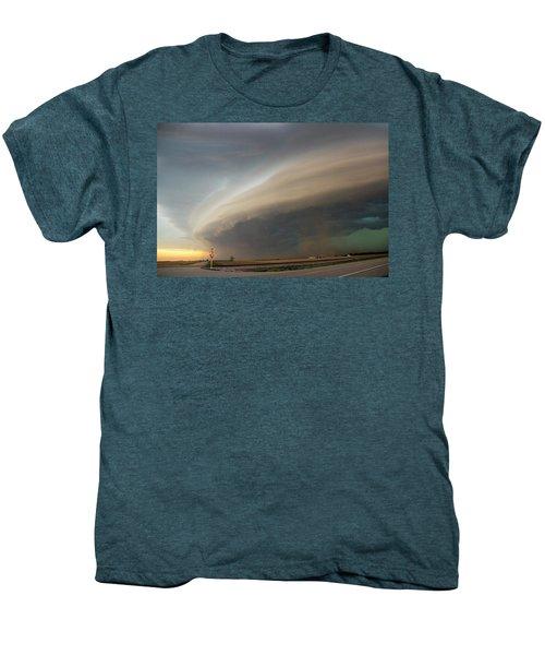 Nebraska Thunderstorm Eye Candy 026 Men's Premium T-Shirt