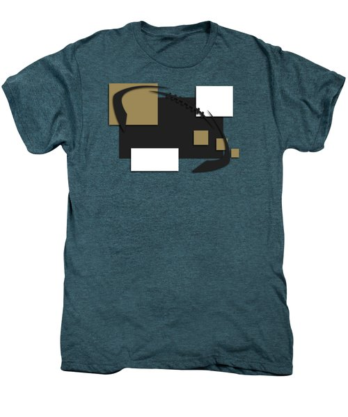New Orleans Saints Abstract Shirt Men's Premium T-Shirt by Joe Hamilton