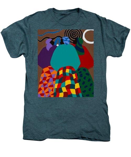 Nigerian Women Men's Premium T-Shirt