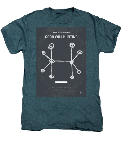 No461 My Good Will Hunting Minimal Movie Poster Men's Premium T-Shirt by Chungkong Art