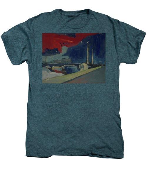Pont Fragnee In Liege Men's Premium T-Shirt