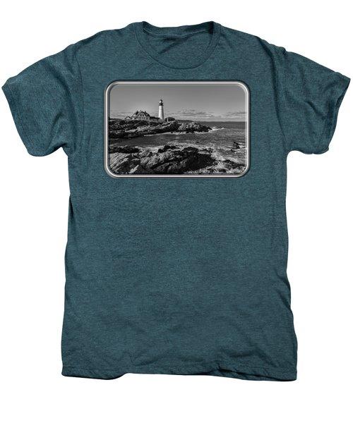 Portland Head Light No.34 Men's Premium T-Shirt