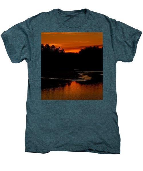 Presumpscot Sunset No.101 Men's Premium T-Shirt