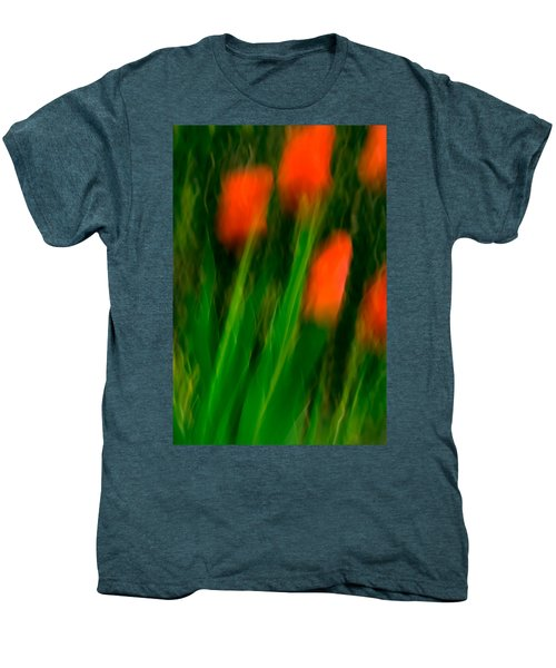 Red Tulips Men's Premium T-Shirt