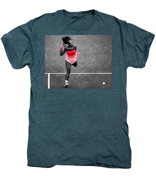Serena Williams Strong Return Men's Premium T-Shirt