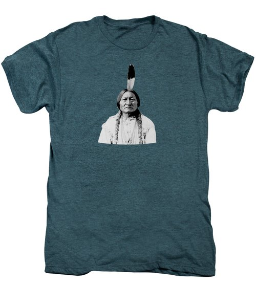 Sioux Chief Sitting Bull Men's Premium T-Shirt by War Is Hell Store