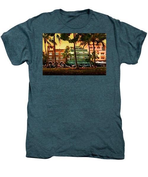 South Beach Ocean Drive Men's Premium T-Shirt