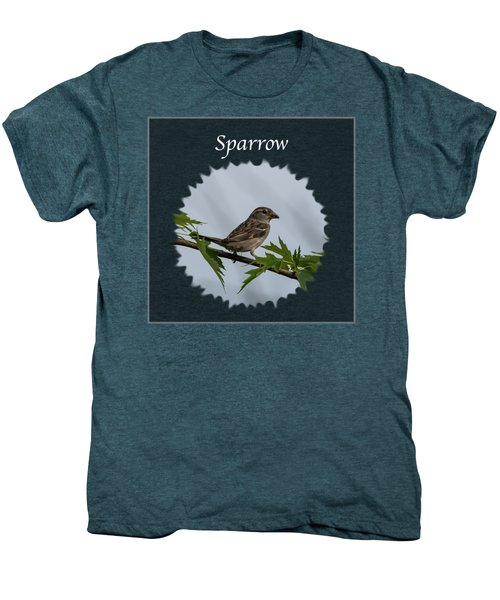 Sparrow   Men's Premium T-Shirt by Jan M Holden