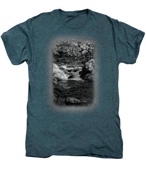 Stream In Autumn No.18 Men's Premium T-Shirt