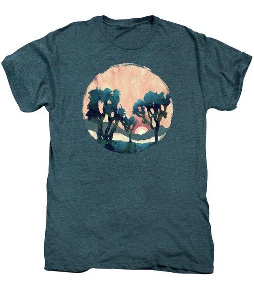 Sunset Desert Canyon Men's Premium T-Shirt