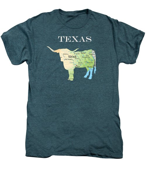 Texas Men's Premium T-Shirt by Art Spectrum