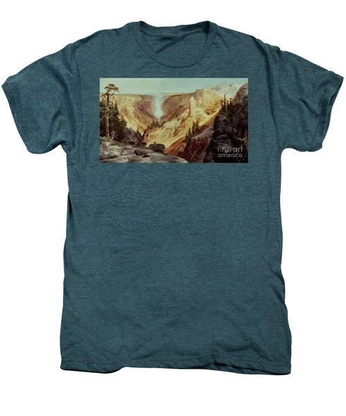 The Grand Canyon Of The Yellowstone Men's Premium T-Shirt