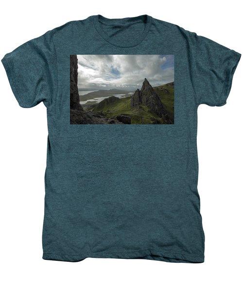 The Old Man Of Storr Men's Premium T-Shirt