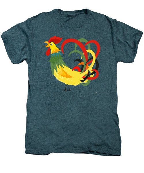 The Rooster Stands Alone Men's Premium T-Shirt