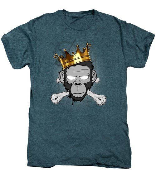 The Voodoo King Men's Premium T-Shirt by Nicklas Gustafsson