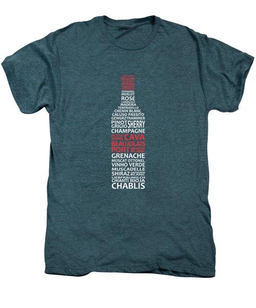The Wine Connoisseur Men's Premium T-Shirt
