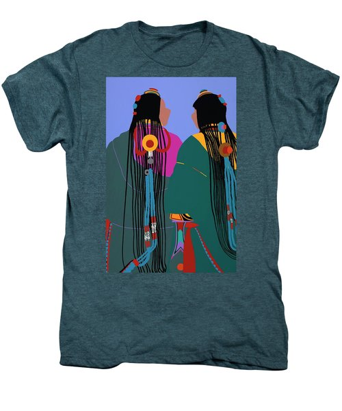 Tibetan Women Men's Premium T-Shirt