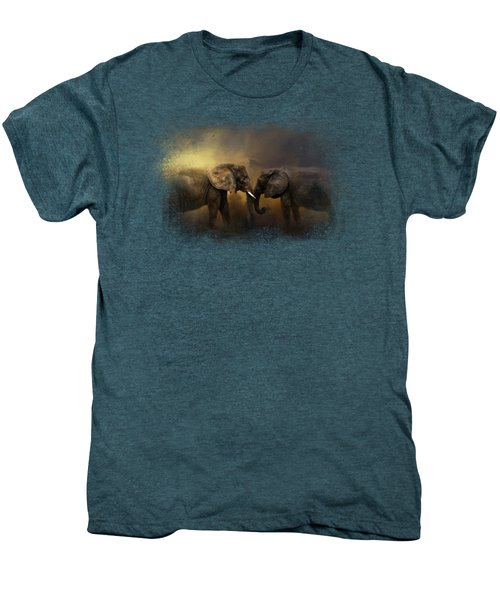 Together Through The Storms Men's Premium T-Shirt by Jai Johnson