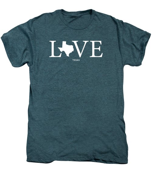 Tx Love Men's Premium T-Shirt by Nancy Ingersoll