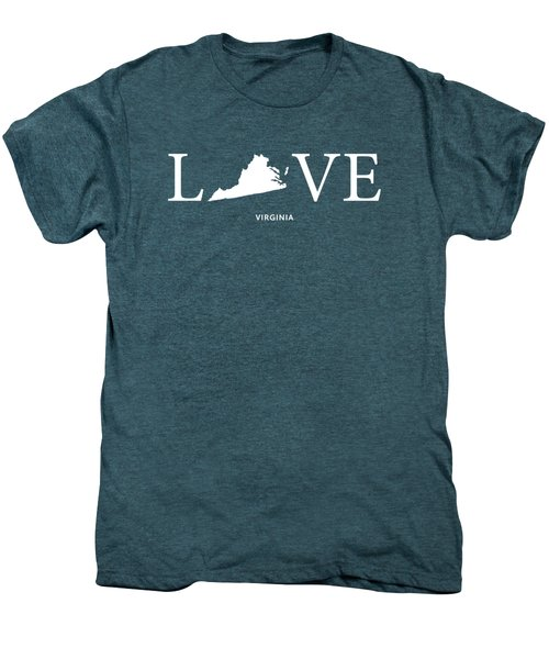 Va Love Men's Premium T-Shirt by Nancy Ingersoll