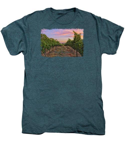 Walla Walla, Wine Country Men's Premium T-Shirt