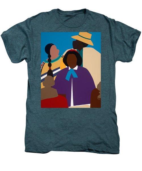 Wildfire A Tribute To Edmonia Lewis Men's Premium T-Shirt
