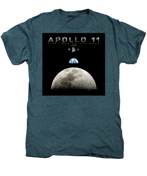 Apollo 11 First Man On The Moon Men's Premium T-Shirt
